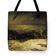 Jerusalem Tote Bag by Jean Leon Gerome