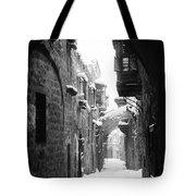 Jerusalem: Winter Tote Bag by Granger