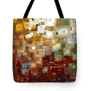 Jesus Christ The Mighty One Tote Bag by Mark Lawrence