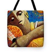 Jibara Y Sol Tote Bag by Oscar Ortiz