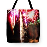 Joe's Fireworks Party 1 Tote Bag by Charles Harden