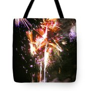Joe's Fireworks Party 2 Tote Bag by Charles Harden