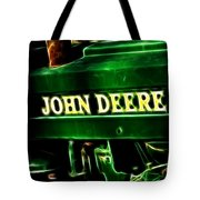 John Deere 2 Tote Bag by Cheryl Young