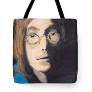 John Lennon Pastel Tote Bag by Jimi Bush