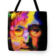 John Lennon Tote Bag by Stephen Anderson