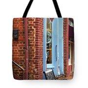 Jonesborough Tennessee Main Street Tote Bag by Frank Romeo