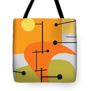 Juxtaposing Thoughts Tote Bag by Richard Rizzo