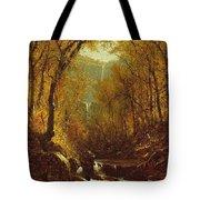 Kaaterskill Falls Tote Bag by Sanford Robinson Gifford
