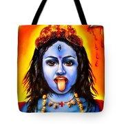 Kali  -hindu Goddess Tote Bag by Carmen Cordova