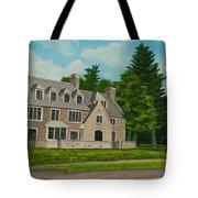 Kappa Delta Rho North View Tote Bag by Charlotte Blanchard