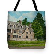 Kappa Delta Rho North View Tote Bag by Charlotte Blanchard