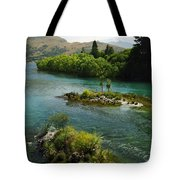 Kawerau River Tote Bag by Kevin Smith