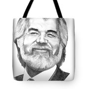 Kenny Rogers Tote Bag by Murphy Elliott