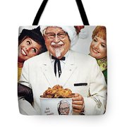 Kentucky Fried Chicken Ad Tote Bag by Granger
