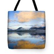 Ketchikan Sunrise Tote Bag by Mike  Dawson