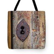 Key Hole Tote Bag by Carlos Caetano