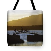 Killarney Golf Club, Lough Leane, Co Tote Bag by The Irish Image Collection