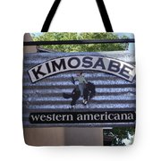 Kimosabe Tote Bag by Mary Rogers