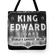 King Edward Cigars Tote Bag by David Lee Thompson