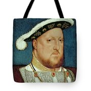 King Henry VIII Tote Bag by Hans Holbein the Younger