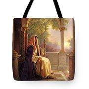 King Of Kings Tote Bag by Greg Olsen