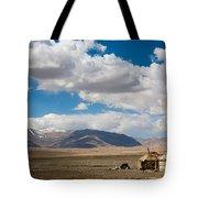 Kirgizian Jurts Tote Bag by Konstantin Dikovsky