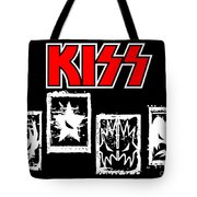 KISS No.03 Tote Bag by Caio Caldas