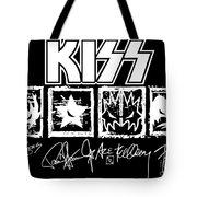 Kiss No.04 Tote Bag by Caio Caldas