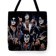 KISS Tote Bag by Paul Ward