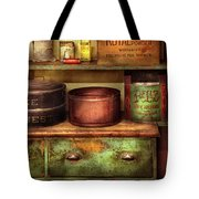 Kitchen - Food - The Cake Chest Tote Bag by Mike Savad