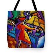 Kitchen  Tote Bag by Leon Zernitsky