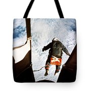 Kittinger Tote Bag by SPL and Photo Researchers