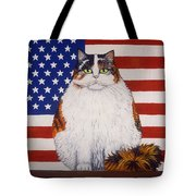 Kitty Ross Tote Bag by Linda Mears