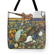 Knights Templar 13th Century Tote Bag by Photo Researchers
