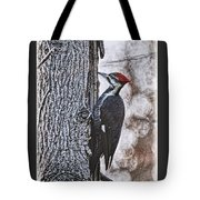 Knock Knock Tote Bag by Lois Bryan