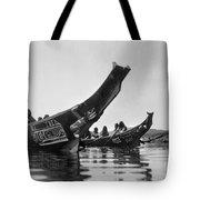 Kwakiutl Canoes, C1914 Tote Bag by Granger