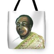 Kwame Nkrumah Tote Bag by Emmanuel Baliyanga