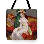 La Coiffure Tote Bag by Renoir