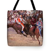La Corsa Del Palio Tote Bag by Guido Borelli