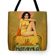 la Matadora Tote Bag by Cinema Photography