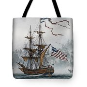 Lady Washington Tote Bag by James Williamson