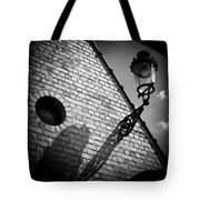 Lamp with Shadow Tote Bag by Dave Bowman