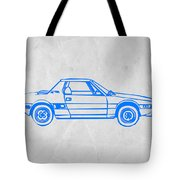 Lancia Stratos Tote Bag by Naxart Studio