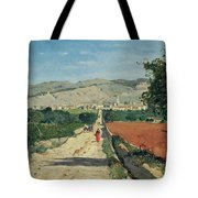 Landscape In Provence Tote Bag by Paul Camille Guigou