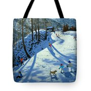Large Snowball Zermatt Tote Bag by Andrew Macara
