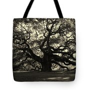 Last Angel Oak 72 Tote Bag by Susanne Van Hulst
