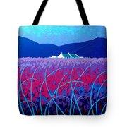 Lavender Scape Tote Bag by John  Nolan