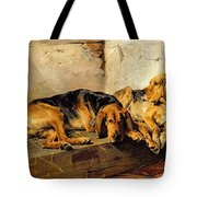 Lazy Moments Tote Bag by John Sargent Noble