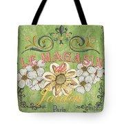 Le Magasin De Jardin Tote Bag by Debbie DeWitt