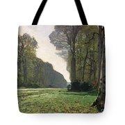 Le Pave De Chailly Tote Bag by Claude Monet